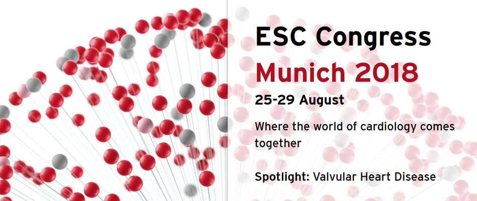 ESC Congress 2018, Munich Germany